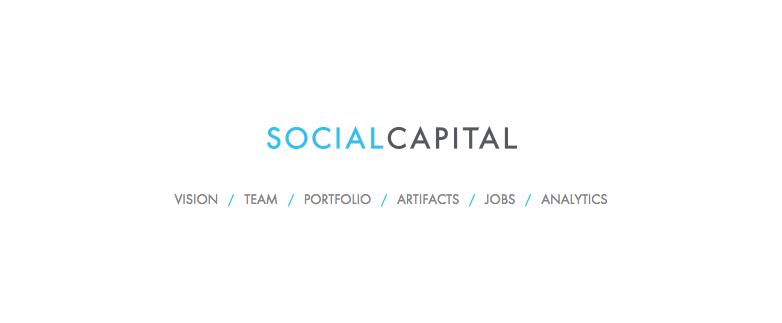 ベンチャーキャピタルなのに上場?SlackやBoxにも投資したソーシャル・キャピタルと無事業で上場する「SPAC」とは